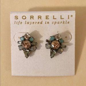 Sorrelli flower earrings multi color